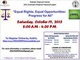 2013 FEW Southwest Regional Training Program