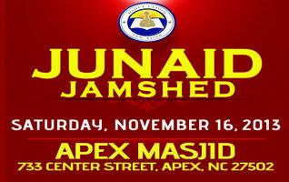 Junaid Jamshed @ Apex, NC on Saturday, November 16,...