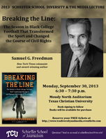 Breaking the Line: A TCU Diversity & the Media Lecture...