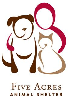 Five Acres Animal Shelter logo