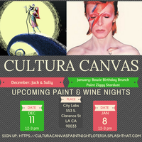 Cultura Canvas Paint Night: Nightmare Before Christmas & David ...