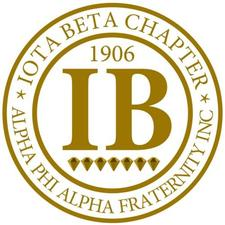 Iota Beta Chapter of Alpha Phi Alpha Fraternity, Inc. logo