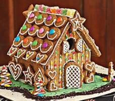 GROWN UP Gingerbread House Decorating!