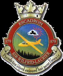Les Cadets de l'escadron 879 Sir Wilfrid Laurier logo