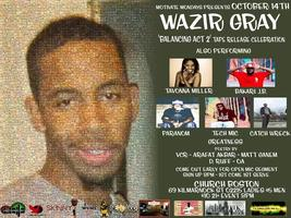 Church Boston Wazir Gray Album Release Celebration