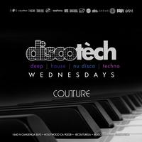 #DISCOTECH Wednesdays at Couture FREE b4 11pm...