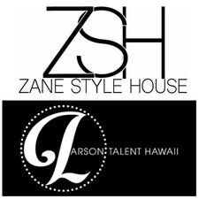 Liana Green Wright of Zane Style House with Larson Talent logo
