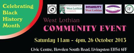 West Lothian Community Event - Celebrating Black...