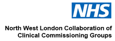 NHS North West London Collaboration of CCG's logo
