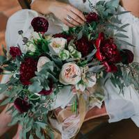 Blissful Brides Bouquet with Ever After Floral Design