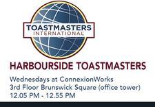 Harbourside Toastmasters Club 1843 logo
