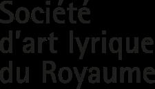 Société d'art lyrique du Royaume logo
