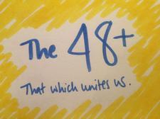 The 48+ logo