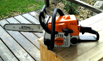 Basic Chainsaw Maintenance