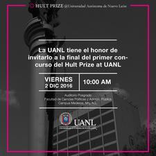 HUlt Prize at UANL logo