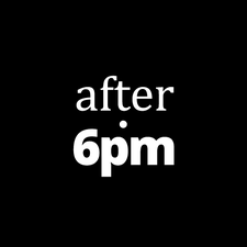 After6pm logo