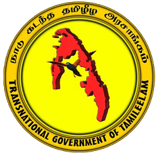 Transnational Government of Tamil Eelam logo