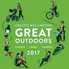 Greater Wellington Great Outdoors logo