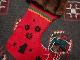 Aboriginal Christmas Stocking