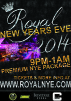 Royal New Years Eve - Tix and More Info at RoyalNYE.com