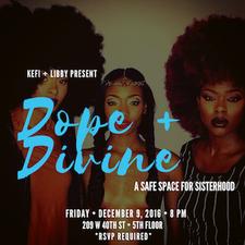 Kefi & Libby | Dope & Divine Chicks logo