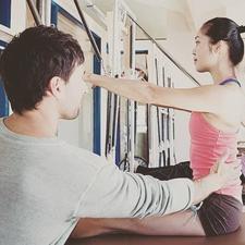 The United Pilates Teaching System logo