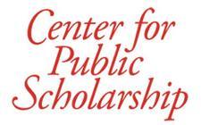 Center for Public Scholarship logo