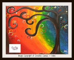Creative Canvas and Wine - Fall Fundraiser