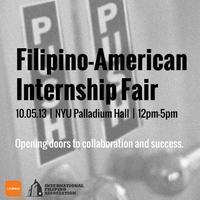 Filipino American Internship Fair