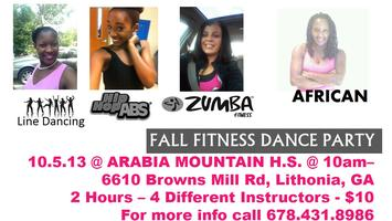Fall Fitness Dance PARTY