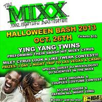 HALLOWEEN BASH FEATURING THE YING YANG TWINS