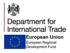 Department for International Trade North East  logo