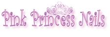 Pink Princess Nails  logo