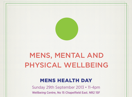 Men's Health Day - Men's Mental & Physical Wellbeing