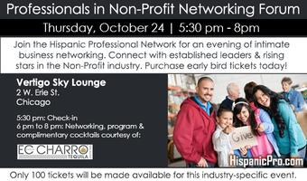 Professionals in Non-Profit Networking Forum