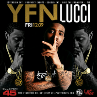 """YFN LUCCI"" TAKESOVER FRIDAY AT ELLEVEN45"