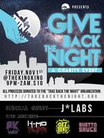 TBTN Productions presents: Give Back the Night
