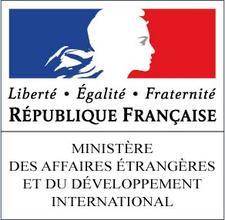Ministère des Affaires étrangères et du Développement international logo