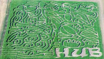 HUB Sports Center Corn Maze 10/11/13