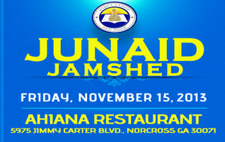 Junaid Jamshed @ Atlanta, GA on Friday, November 15,...