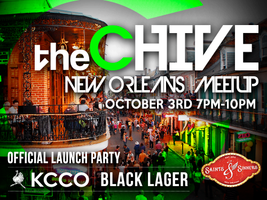theCHIVE's Official New Orleans KCCO Black Lager...