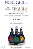 NOE GRILL presents Pura Vida Tequila Dinner