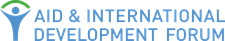 Aid and International Development Forum (AIDF) logo