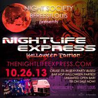 Nightlife Express Halloween Partybus