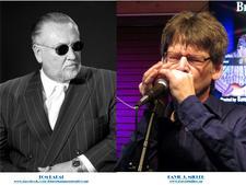 "Tom Radai and David ""Harmonica"" Miller logo"