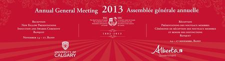 2013 Assemblée générale annuelle de la Société royale...