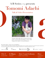 TOMOMI ADACHI Talk & Video Presentation