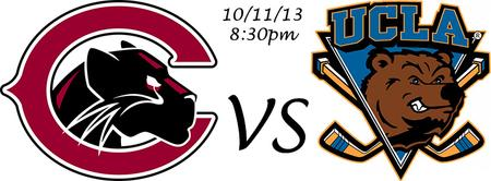 Chapman Mens Hockey Home Opener V.S. UCLA at KHS 10/11...