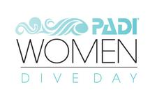 PADI Women's Dive Day 2017 logo