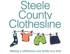 Steele County Clothesline logo